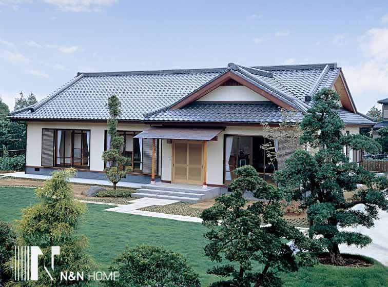 xây nhà kiểu Nhật Bản
