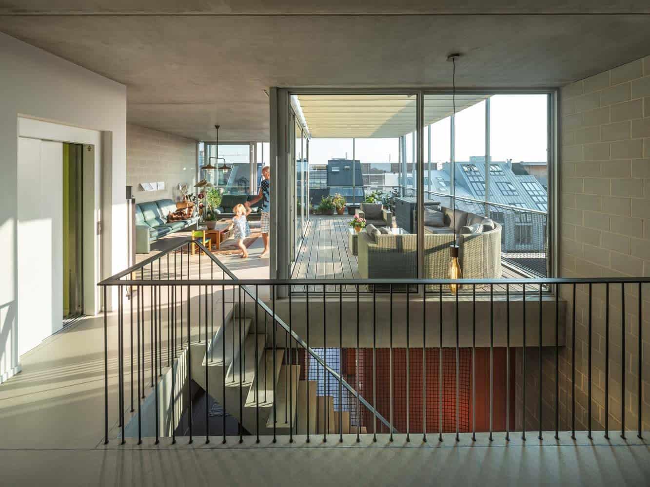 thiết kế nhà 4 tầng đẹp