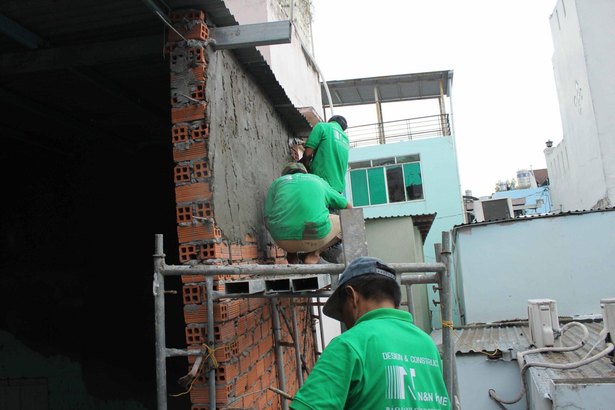 sửa nhà trọn gói thành phố Hồ Chí Minh