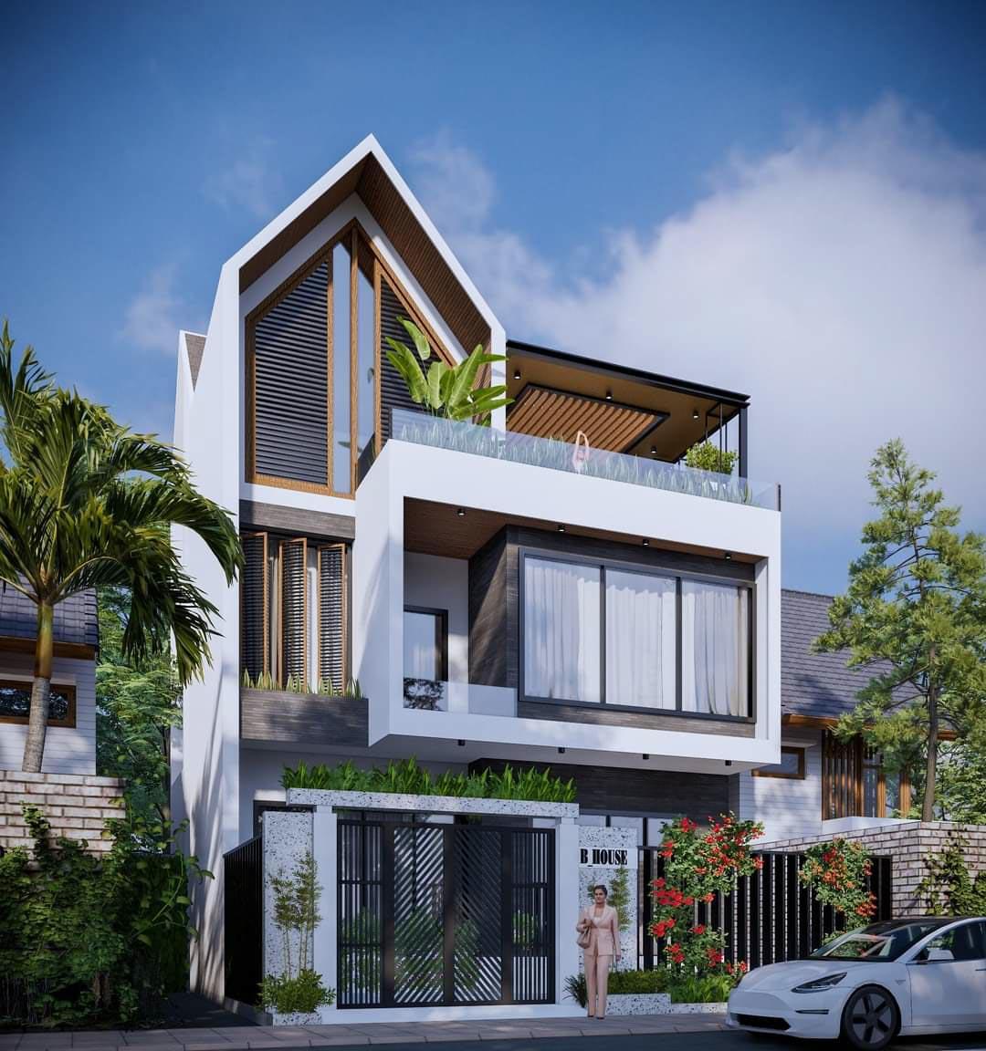Ý tưởng thiết kế không gian nhà phố tiện nghi, cao cấp