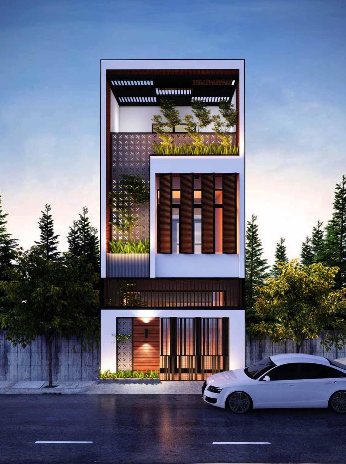 Giá trị của thiết kế nhà phố